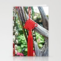 Chinese Knot (Red) Stationery Cards