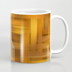 Digital wicker pattern Mug