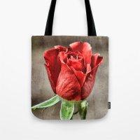 Red Rose Red Tote Bag