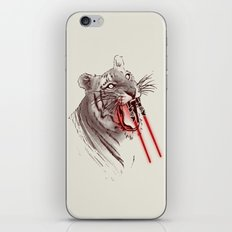 Light Saber Tooth Tiger iPhone & iPod Skin