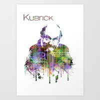 Kubrick Art Print