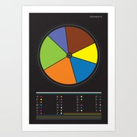 Information design. Art Print