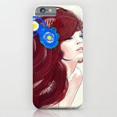 Blue flower. iPhone 6s Slim Case