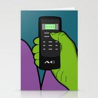 hulk Stationery Cards featuring hulk by mark ashkenazi