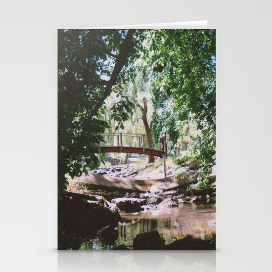 greenery Stationery Card