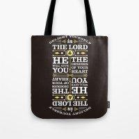 Psalm 37:4 Tote Bag