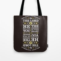 Psalm 37:4 Tote Bag