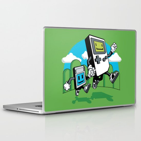 Handheld Laptop & iPad Skin
