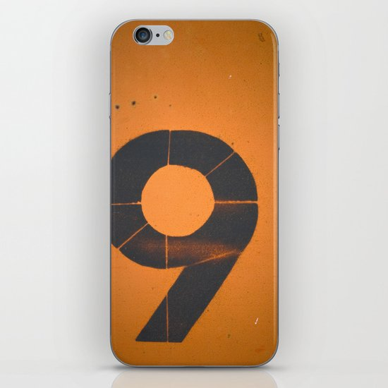 Old Number 9 iPhone & iPod Skin