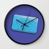 White Club Wall Clock