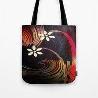 Swirly Girly Tote Bag
