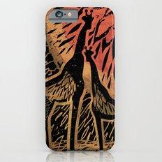 Giraffe Color Sunset iPhone 6 Slim Case