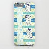Doodled Checks iPhone 6 Slim Case