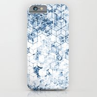 iPhone & iPod Case featuring Flower Cubes by Emma Wilson