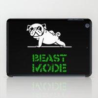 Beast Mode Pug iPad Case