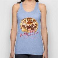 Kitty Kat Saloon Club - Charcoal Unisex Tank Top