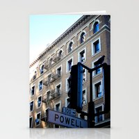 Powell St. San Fran. Stationery Cards