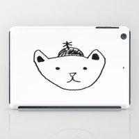 Being Fancy in a Hat iPad Case