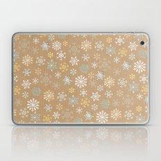 snow flakes pattern Laptop & iPad Skin