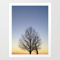 Silhouette  Art Print