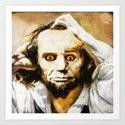 Abraham Lincoln's bewilderment Art Print