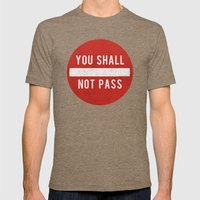 you shall not pass Mens Fitted Tee Tri-Coffee SMALL