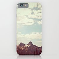 iPhone & iPod Case featuring Vintage Mountain Ridge by Kurt Rahn