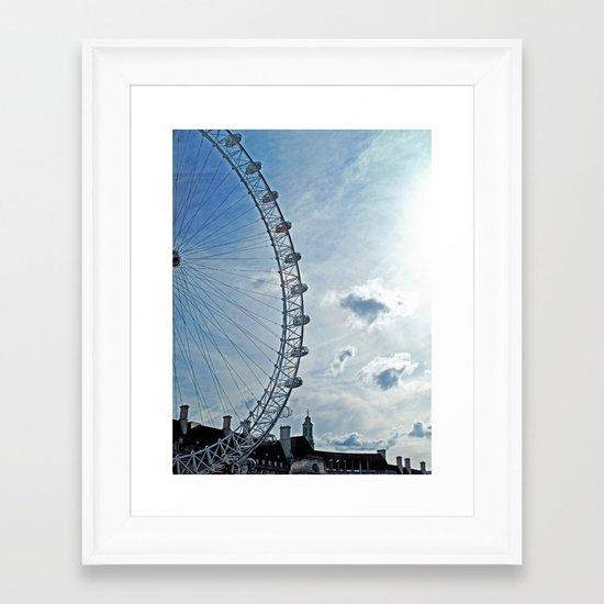 The London Eye Framed Art Print
