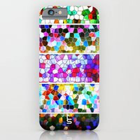 Geometric Worlds (Five Panels Series) iPhone 6 Slim Case