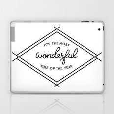 IT'S THE MOST WONDERFUL TIME OF THE YEAR Laptop & iPad Skin