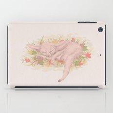 Fox sleeping iPad Case