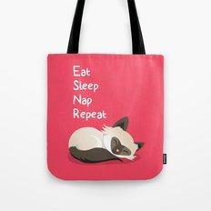 Cat's Life Tote Bag