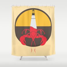 Lobster House Shower Curtain