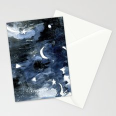 Twilight Night Sky Stationery Cards