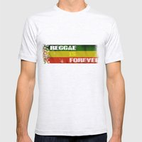 Reggae Is Forever II Mens Fitted Tee Ash Grey SMALL