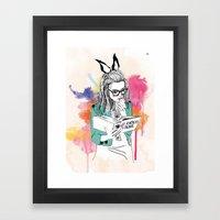 Aparências Framed Art Print