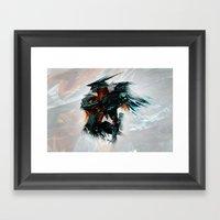 Orbital Frame Framed Art Print