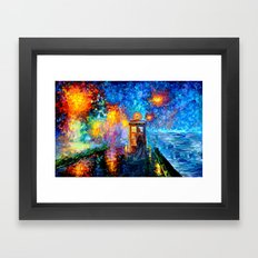 The 10th Doctor Who Star… Framed Art Print