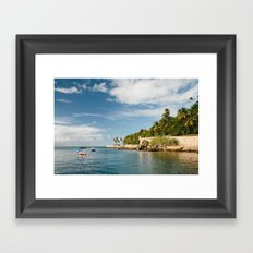 Harbor Framed Art Print