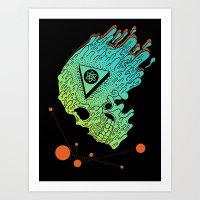 Child Of Atom Art Print