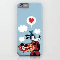MICKEY'S PIZZA iPhone 6 Slim Case