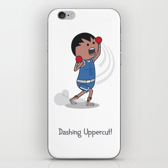 Dashing Uppercut iPhone & iPod Skin