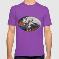 The Pharoah's Horses Mens Fitted Tee Ultraviolet SMALL