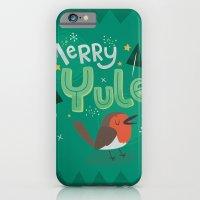 Merry Yule Greetings Des… iPhone 6 Slim Case