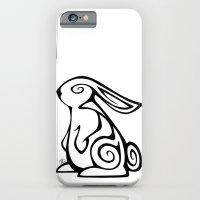 Rabbit Swirls iPhone 6 Slim Case