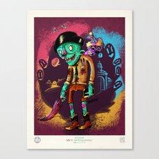 John el Esquizofrénico Canvas Print
