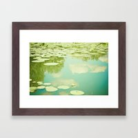 Summer Reflections Framed Art Print