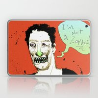 Not a Zombie Laptop & iPad Skin