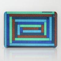 Blue 'n Orange iPad Case