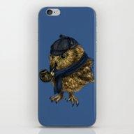 Sherlock // Owl iPhone & iPod Skin